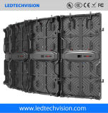 Afficheur LED P5.95 flexible extérieur pour annoncer (P4.81, P5.95, P6.25)
