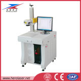Верхняя машина маркировки лазера волокна Herolaser 20W тавра для пластмассы ABS металла