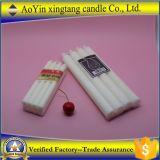 Comercio al por mayor 1,4x16cm blanco VELA VOTIVA por China fábrica de velas