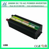 Inversor de alta freqüência de DC12V AC110/120V 2000W (QW-M2000)