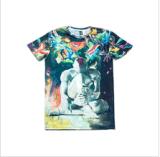 T-shirt impresso Sublimation da forma para os homens (M282)