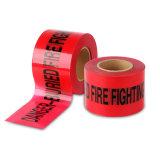 PEの赤い危険の警告テープトラフィックのバリケードテープ