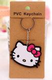 선전용 선물 열쇠 고리 관례 PVC Keychain 플라스틱 고무 Keychain