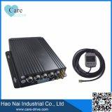 SD-Карточка передвижное DVR черного ящика автомобиля 4 CH с GPS 3G 4G WiFi