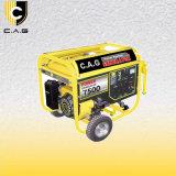 6kw/6kVA/6000watt Accueil utiliser générateur à essence avec poignée et roues