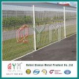 PVC покрыл сваренную 3D панель загородки ячеистой сети загородки ячеистой сети сваренную утюгом