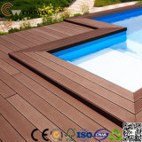 Decking ao ar livre do Decking Anti-UV WPC das matérias- primas (TW-02)