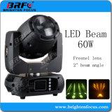 移動のHead 60W BeamフレネルLens LED Stage Light