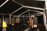 6X9m Used Black PVC Tent für Konferenzzimmer VIP-