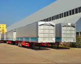 CIMC el 13m 50 toneladas de Van cerrado Trailer