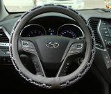 Universele Meryl ademt vrij de Kleurrijke Dekking van het Stuurwiel van de Auto