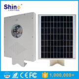 indicatore luminoso di via solare Integrated 12W con la funzione del sensore, tutta in una fabbrica solare dell'indicatore luminoso di via