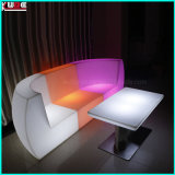 LED de base en acier inoxydable de tables pour Bar Disco Party