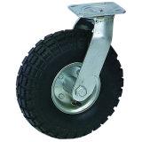 Pneumatisches Rad-industrielle drehende Fußrolle