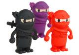 Nouveau design PVC Ninja personnalisé du disque Flash USB avec une haute qualité