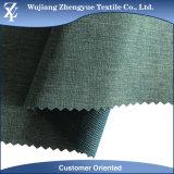 Tessuto rampicante degli abiti sportivi di stirata del fronte del doppio del Melange dello Spandex del poliestere