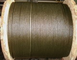 Corda de fio de aço galvanizada não de giro 34X7+FC