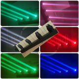 4 LED de cores do feixe de cruzamento Bar Mini-Cabeça Móvel/LED de iluminação de palco/Iluminação DJ