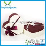 Caixa de presente de casamento de papel de luxo