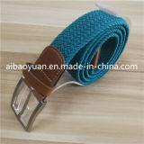 Men's Gauzy sangle de ceinture tressée Bleu royal
