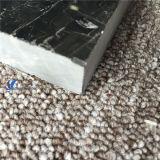Polished 자연적인 은 용 검정 대리석