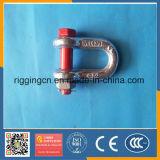 Preiswertes HDG wir Absinken schmiedete Marined-Form-Fessel G2150 mit Sicherheit SchraubePin