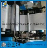 Máquina de gravação dobrada do papel de tecido do guardanapo de 2 cores