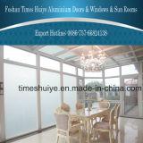 Glashaus mit Doppelverglasung-und Aluminiumlegierung-Zelle