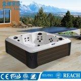 Le plus récent 5 personnes autostable de style spa extérieur un bain à remous (M-3394)