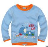 Manches longues nouveau costume brodé privé de l'automne Cardigan T-shirt pour enfants de l'habillement