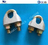 Galv. En13411-5 malléable Wire Rope Clips de moulage