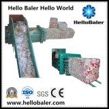 Hola máquina horizontal de la prensa del papel usado de la prensa con Ce
