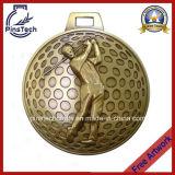 カスタム鋳造物のスポーツ賞、3Dゴルフメダルを停止しなさい