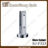 Espiga cuadrada con Placa Base abrazadera de cristal de Esgrima (SJ-F323)
