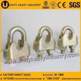 Clip Ele-Galvanisé de câble métallique DIN1142