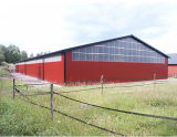 Het Geprefabriceerde Pakhuis van uitstekende kwaliteit van de Structuur van het Staal van de Grote Spanwijdte (kxd-SSW6)