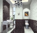 Baldosas de porcelana, sales solubles, 600X600m Vestíbulo, Cuarto de baño, cristal, Prati