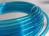 O tubo de ar de PU azul transparente, éster de poliuretano com base Tubo ou mangueira pneumática