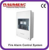 2 zona, 24V, painel de controle Non-Addressable do sistema da segurança do alarme de incêndio (4000-01)