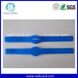 Wristband силикона RFID незамкнутой сети 13.56MHz регулируемый