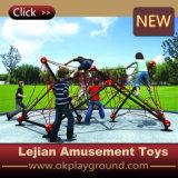 Ce bois Matériaux garderie enfant Style indien de l'équipement d'escalade (P1201-15)