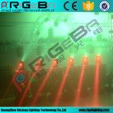 二重表面小型LEDビーム洗浄移動ヘッド段階ライト