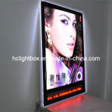 Cristallo LED Slim Light Box con Running Letters