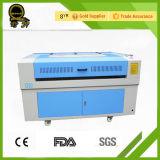 Máquina de corte do laser para o acrílico de couro