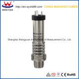 Le connecteur sanitaire 4-20mA de fiche de pente vident le transmetteur de pression de membrane