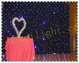 Пожаробезопасная ткань звезды /LED занавеса звезды занавеса СИД для венчания этапа