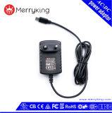 EU-Stecker-Wand-Montierung 12V 0.5A Wechselstrom-Spannungs-Adapter mit CB Bescheinigungen Cer GS-BS