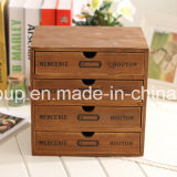 França Chic Solid Wood Old Vintage Customized Cupboard Display Box