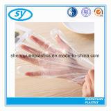 Одноразовый PE пластиковые защитные перчатки для пищевой или медицинского класса