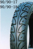 Fábrica de Qingdao del neumático/del neumático y del tubo de goma (90/90-18) de la motocicleta